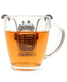 The only thing to make this disarmingly adorable robot tea infuser better is using it to honor George Orwell's 11 rules for the perfect cup of tea.