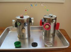 The Wonder Years: Magnet Exploration :: Tin Can Robots
