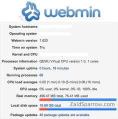 learn how to install webmin control panel on your vps.