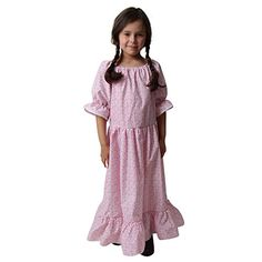 Shop for Girls Calico Print Floral Pioneer Dress (Choose Size) - Pink and White Floral - at best price, a large range of designer Girls' Special Occasion Dresses discount sale. Tank Dress, Dress Up, Halloween Outfits, Bear Halloween, Halloween Clothes, Halloween Costumes, Pioneer Dress, Girls Special Occasion Dresses, Girl Costumes