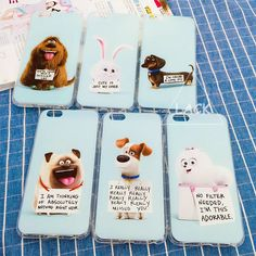 Lovely Cartoon Animal Case For iPhone