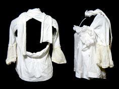 tao COMMEdesGARCONS 2007 「S」 ワイドドレープフリルショールカットソー・ブラウス (wide drape frill cut sew)
