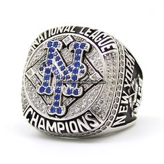 2015 New York Mets NL Championship Ring. Best gift from www.championshipringclub.com for Mets fans. everybody can custom a personalized championship ring now.