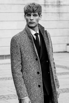 Baptiste Radufe fronts the Fall/Winter 2015 campaign of SAND, photographed by Marco van Rijt with creative direction from Kim Grenaa.