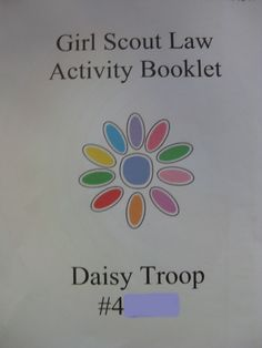 Amazing Daisy.  Girl Scout Law Activity Booklet.