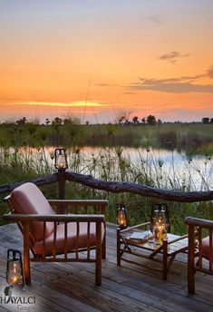 Nadire Atas on Dining with a Fantastic View Xakanaxa Camp - Okavango Delta, Botswana Okavango Delta, Outdoor Spaces, Outdoor Living, Chobe National Park, Africa Destinations, By Any Means Necessary, Out Of Africa, British Colonial, African Safari