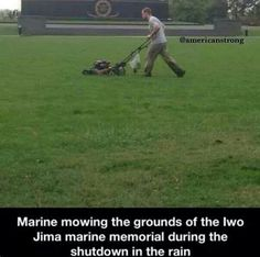 Semper Fi..Awesome if only President, congress and senate loved and cared for us as our Military. Real Hero,
