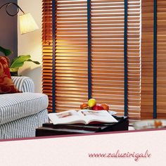 Wooden Horizontal Blinds - If you're thinking of renovating your house, you might wish to think that good window blinds co Living Room Windows, Living Room Carpet, Blinds For Arched Windows, Window Blinds, Window Coverings, Window Treatments, Store Venitien, Horizontal Blinds, Cleaning Blinds