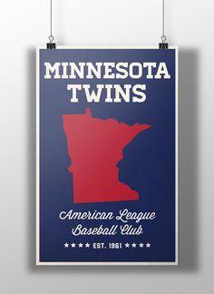 MLB Fan Apparel & Souvenirs Sports Fan Apparel & Souvenirs MLB All-Star Game MINNESOTA 2014 TARGET FIELD Official POSTER Print by Fazzino