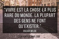 citation d'Oscar Wilde sur la vie