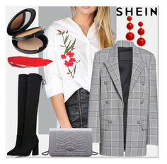 """""""SheIn"""" by elza-345 ❤ liked on Polyvore featuring Alexander Wang, Kate Spade and Cover FX"""