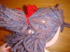 cheveux poupées (6) Knitting, Blog, Animals, Harry Potter, Art, Crochet Dolls, Plushies, Knit Shawl Patterns, Crochet Wolf