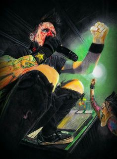 """#Prismacolor #drawing.  #Chad Gray - Hellyeah. """"Just A Fan"""" #Fan #Art.  #fanart #ChadGray #Hellyeah #Chadnesss #Concert # realism"""