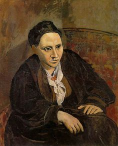 Picasso's Gertrude Stein. Emotion is not photography, it is all about capturing the soul
