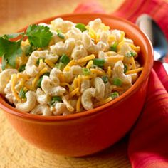 Mexican Macaroni Salad Recipe Salads, Side Dishes with elbow macaroni ...
