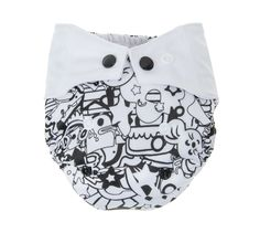 Sperrelag nyfødt Mommy Mouse 2,8-7kg BLACK Reusable Tote Bags, Black, Black People