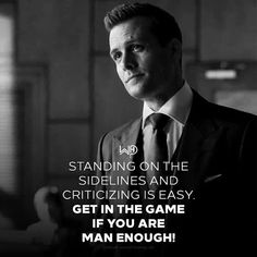 "Gabriel Macht in ""Suits"". Boss Quotes, Strong Quotes, Life Quotes, Gabriel Macht, Harvey Spectre Zitate, Harvey Specter Suits, Suits Quotes, Motivational Quotes, Inspirational Quotes"