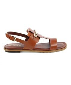 Tod's Tod's Women's Brown Leather Sandals