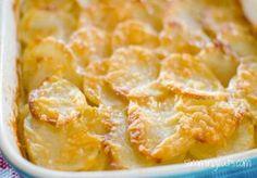 Slimming Eats Potato Gratin - gluten free, vegetarian, Slimming World and Weight Watchers friendly