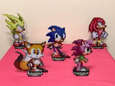 Sonic the Hedgehog and friends have invaded my Etsy shop!