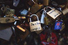 Love lock / Fuente de los Candados / Montevideo, Uruguay