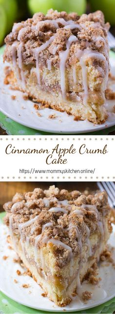 Cinnamon Apple Crumb Cake Are you ready for fall baking? Cinnamon Apple Crumb Cake is the perfect dessert for crisp weather coming up. - Are you ready for fall baking? Cinnamon Apple Crumb Cake is the perfect dessert for crisp weather coming up. Brownie Desserts, Oreo Dessert, Brownie Recipes, Dessert Wine, Appetizer Dessert, Pumpkin Dessert, Dessert Haloween, Apple Crumb Cakes, Apple Crumb Pie