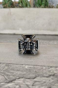 Ανδρικό δαχτυλίδι 'Sons of Anarchy' (Ατσάλι) Men Rings, Anarchy, Cufflinks, Silver Rings, Accessories, Jewelry, Male Rings, Jewellery Making, Jewerly
