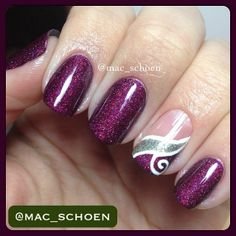 Instagram photo by mac_schoen #nail #nails #nailart