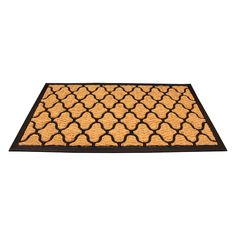 Amber Home Goods entrance rug features a classic design with ancient origins and is manufactured specifically for doors and entryways. Entrance Rug, Entrance Ways, Coir, Floor Mats, Biodegradable Products, Gifts For Friends, Indoor Outdoor, Home Goods, Amber