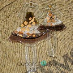 para szklanych aniołków