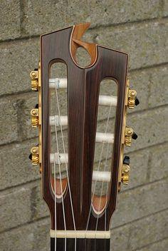 Prohaszka Guitars headstock