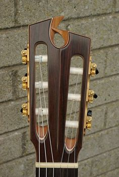 Prohaszka Guitars headstock