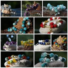 New style, trendy colors, beautiful gemstones!