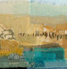 64 Super Ideas for art sketchbook assignments mixed media Collage Landscape, Abstract Landscape, Textiles Sketchbook, Art Sketchbook, Art Textile, Textile Artists, Collages, Sketchbook Assignments, Tea Bag Art