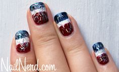 4th of july   More nails...should I do these instead?