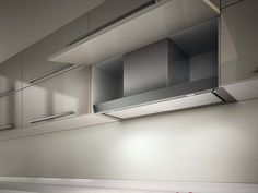 Einbau- Dunstabzugshaube aus Edelstahl FILO Kollektion Architecture by Elica | Design Elica Design Center