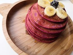 The most delicious beetroot pancakes - Little Hands BLW Crepes And Waffles, Fluffy Pancakes, Banana Pancakes, Beetroot Recipes, Sweet Potato Pancakes, Perfect Breakfast, Beets, Superfood, Dairy Free