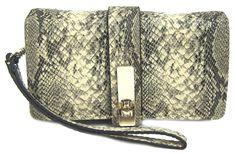 GUESS Kingsley Cognac Smartphone Wristlet Wallet Case, Python >>> Review more details here