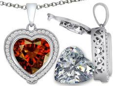 Switch-It Gems(tm) 2in1 Heart 10mm Simulated Garnet Pendant with Interchangeable Simulated Diamond Included in 925 Sterling Silver Switch-It Gems. $79.99. Guaranteed Authentic from the Switch It Gems designer line. Free Chain in a matching metal will be included. Switch-It Gem(tm) Designs are protected by US Copyright and Patent Laws. 12 Simulated interchangeable Birthstones Included. All original Switch-it gems products come with a free limited Lifetime Warranty.