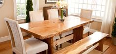 live edge dining table furniture