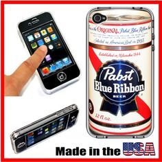 Vintage PBR Pabst Blue Ribbon Beer Can