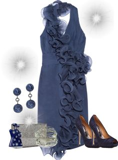 """""""Navy Dream"""" by lipp04 ❤ liked on Polyvore"""