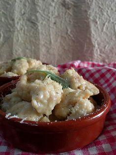 SLELLY: Gnocchi di pane e tomino fresco al burro e salvia ...