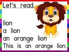 #_Reading_Sheets   هدية للحلوين اللى لسه بيتعلموا القراءة  هيتعملوا الألوان  ادوات النكرة أسماء الحيوانات  English