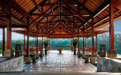 The third resort in Ritz-Carlton's ultra-exclusive Reserve group, Mandapa occupies a pristine, 24-ac... - Courtesy of Ritz-Carlton