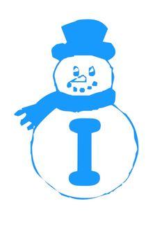 Zima - napis 2 Grudzień Napisy Święta i pory roku Zima Caterpillar, Smurfs, Fictional Characters, Alphabet, Snow Flakes, Fantasy Characters, Butterfly