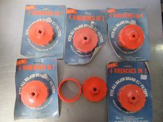 Oil Filter Wrench 4 In 1 Fits all 2 Filters Nylon 6 Total Vintage Nos Oil Filter, Filters, Online Auto Parts Store, Filter Wrench, 4 In 1, Vintage, Vintage Comics