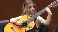 Amazing 7-Year-Old girl Guitarist - Konstantina Andritsou performs @ Meg...