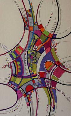 "Saatchi Art Artist Victoria Potrovitza; Painting, ""Open roads"" #art"