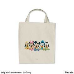 Baby Mickey & Friends Tote Bag